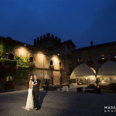 Florinda e Stefano nel Castello di Marne a Filago