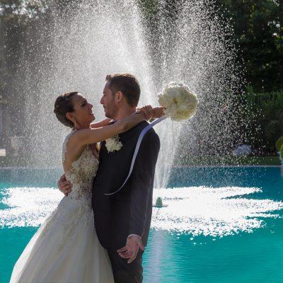 VALENTINA E MARCO |  TEMA DEL MATRIMONIO IN BIANCO E NERO